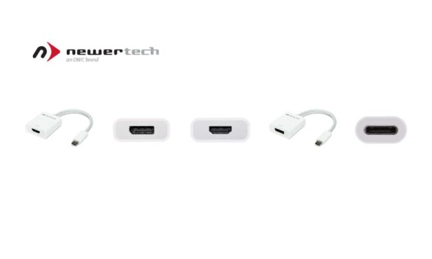 NewerTech Announces USB-C to HDMI And USB-C to DisplayPort Adapters NEWS