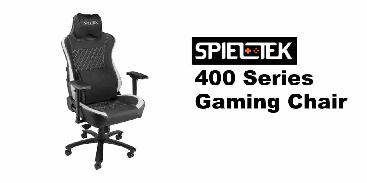 Spieltek 400 Series Gaming Chair REVIEW