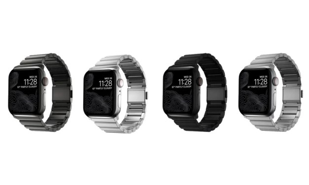 Nomad Launches New Line of Steel and Titanium Bands for Apple Watch NEWS