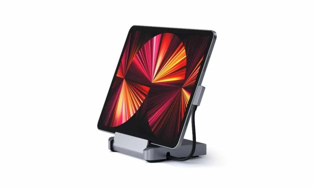 Satechi Launches Foldable Aluminum Stand & Hub for New Apple iPad Pro NEWS