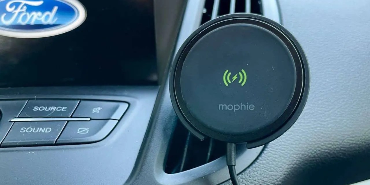 Mophie Snap+ Wireless Vent Mount REVIEW