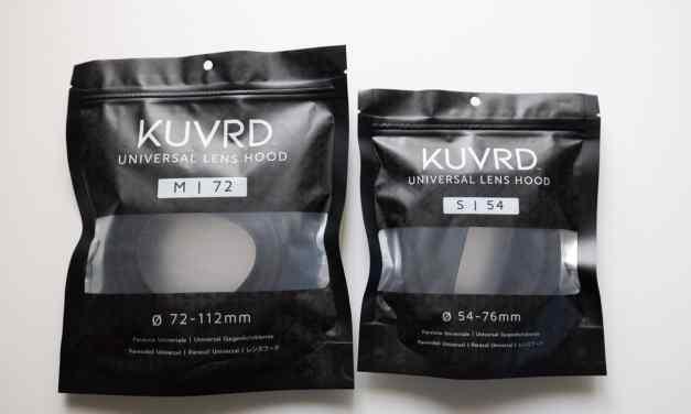 KUVRD Universal Lens Hood REVIEW