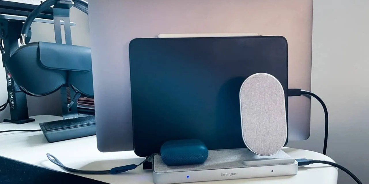 Kensington StudioCaddy with Qi Wireless Charging REVIEW