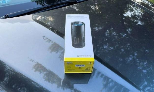 SCOSCHE FrescheAir Pro Portable HEPA Air PurifierREVIEW