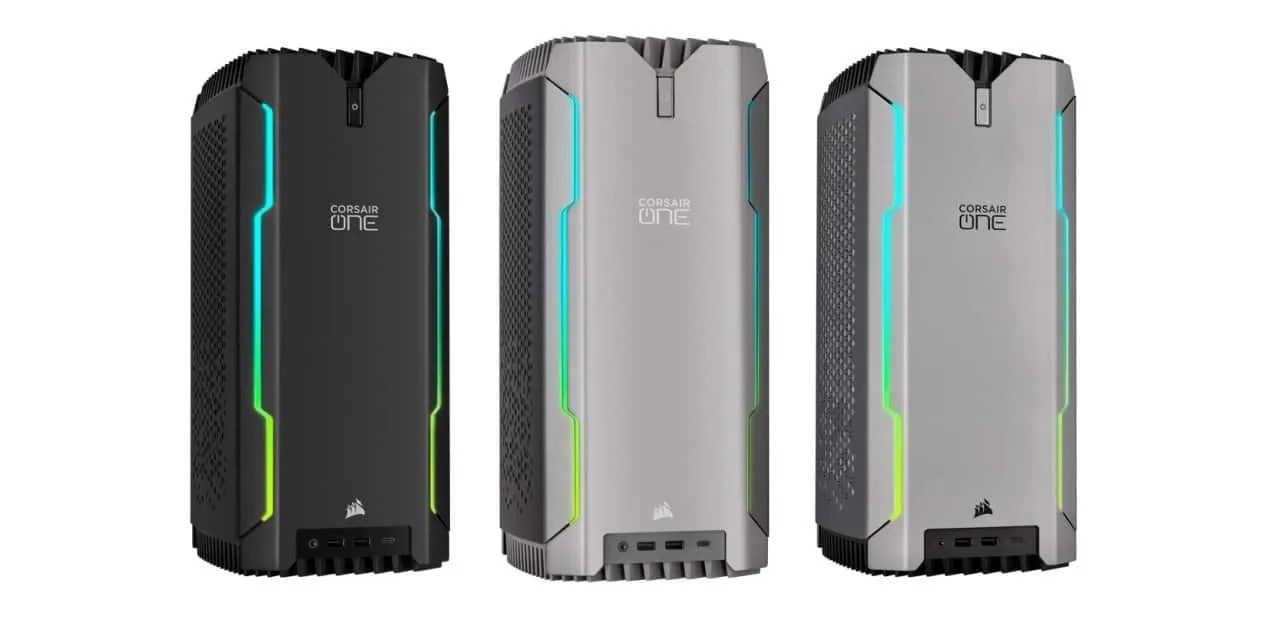 CORSAIR Launches New CORSAIR ONE Gaming PCs Equipped with NVIDIA® GeForce RTX™ 3080 Ti Graphics NEWS