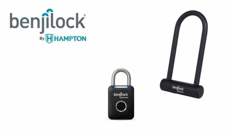 Benjilock 35mm Fingerprint Sport Padlock and Fingerprint U-Type Bike LockREVIEW