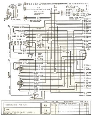 1971 Chevelle El Camino Wiring Diagram | Wiring Library