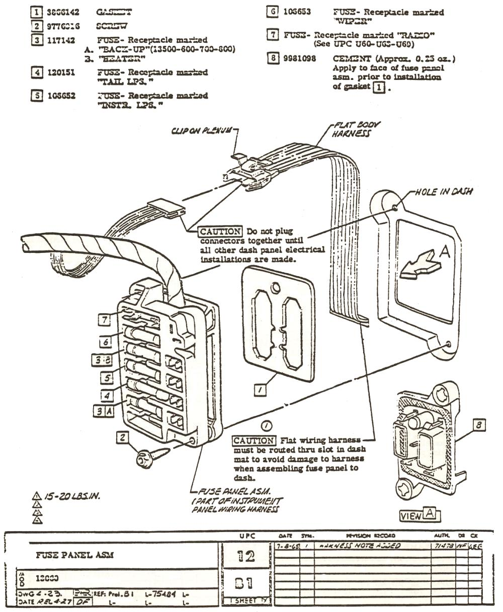 1960 Karmann Ghia Wiring Harness Schematics Diagrams Fuse Box Imageresizertool Com Diagram 1970