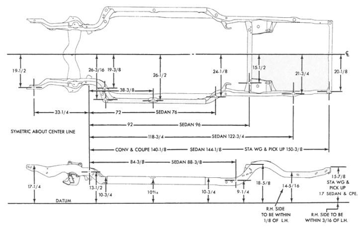 S10 Truck Frame Dimensions | Framess.co