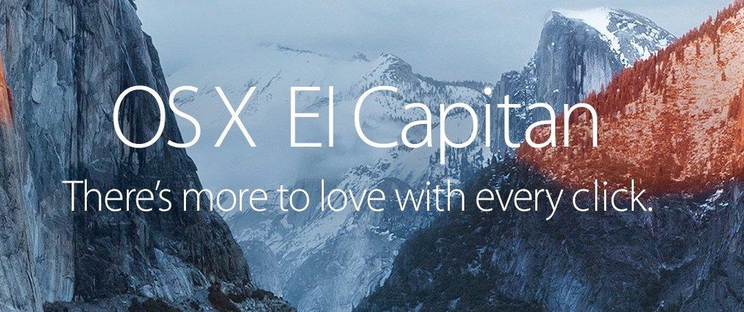 Get El Capitan before Sierra Ships