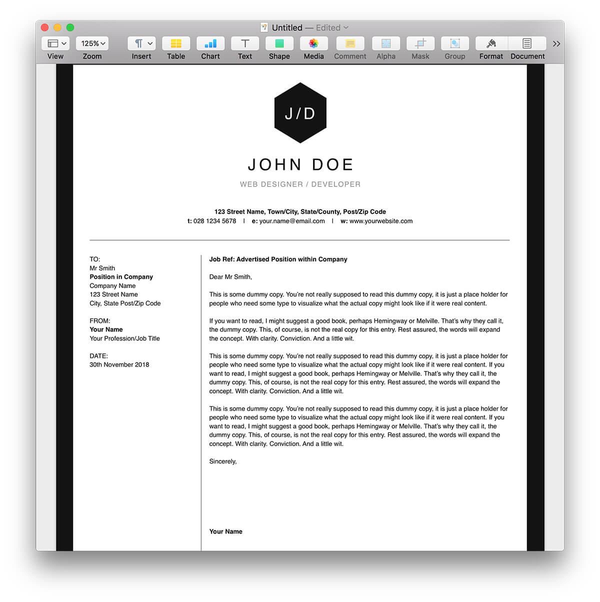 pdf free modern resume templates contemporary resume format resume