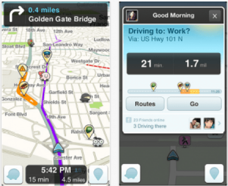 Waze-Screenshots
