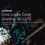 Lutify me cine looks color grading 3d luts icon