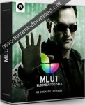 motionvfx mlut blockbuster pack 30 professional cinematic color look up tables winmac os x