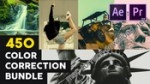 MotionArray – 450 Color Correction Bundle for Premiere Pro & After Effects (Win/Mac)