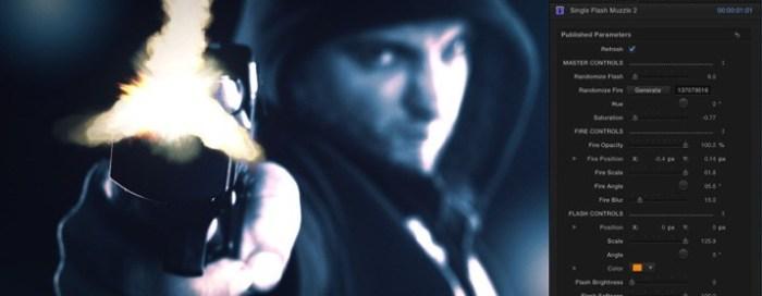 Pixel Film Studios ProGun – Gun-Fire Effect for FCPX - Mac