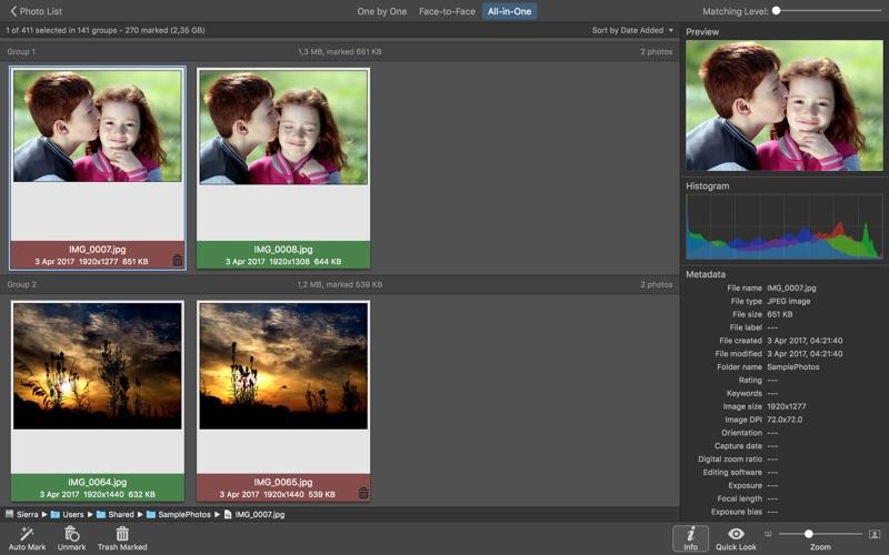PhotoSweeper Screenshot 2