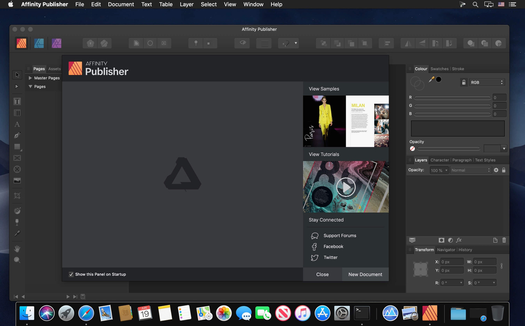 Affinity Publisher Beta 173475 Screenshot 01