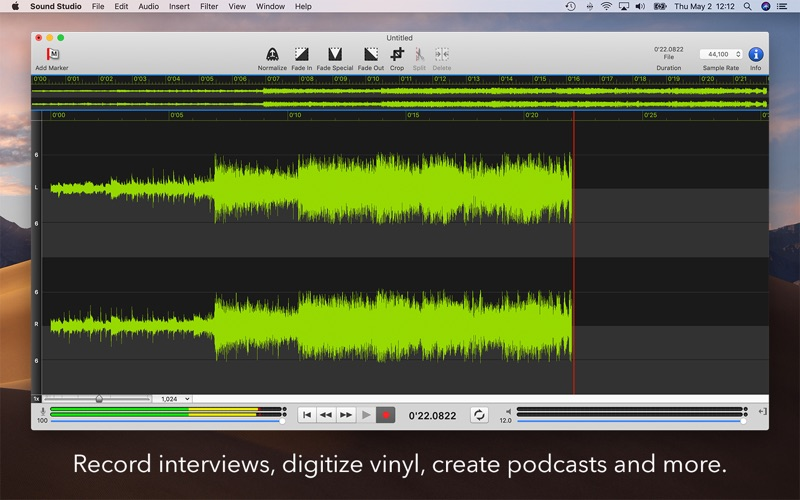 Sound Studio Screenshot 1