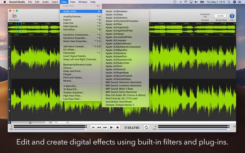 Sound Studio Screenshot 2