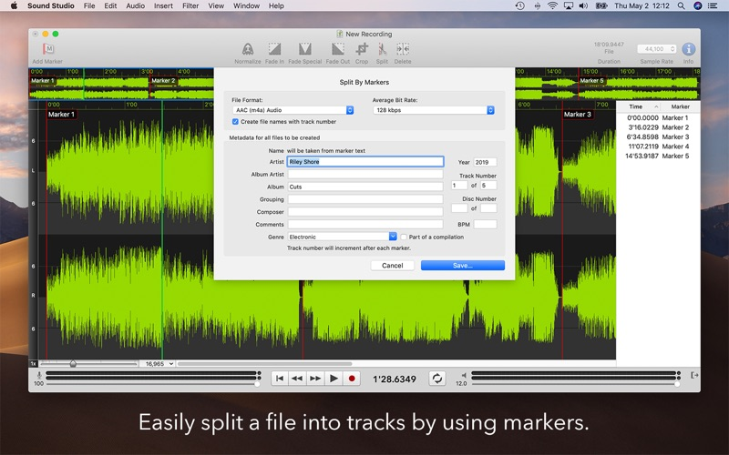 Sound Studio Screenshot 3