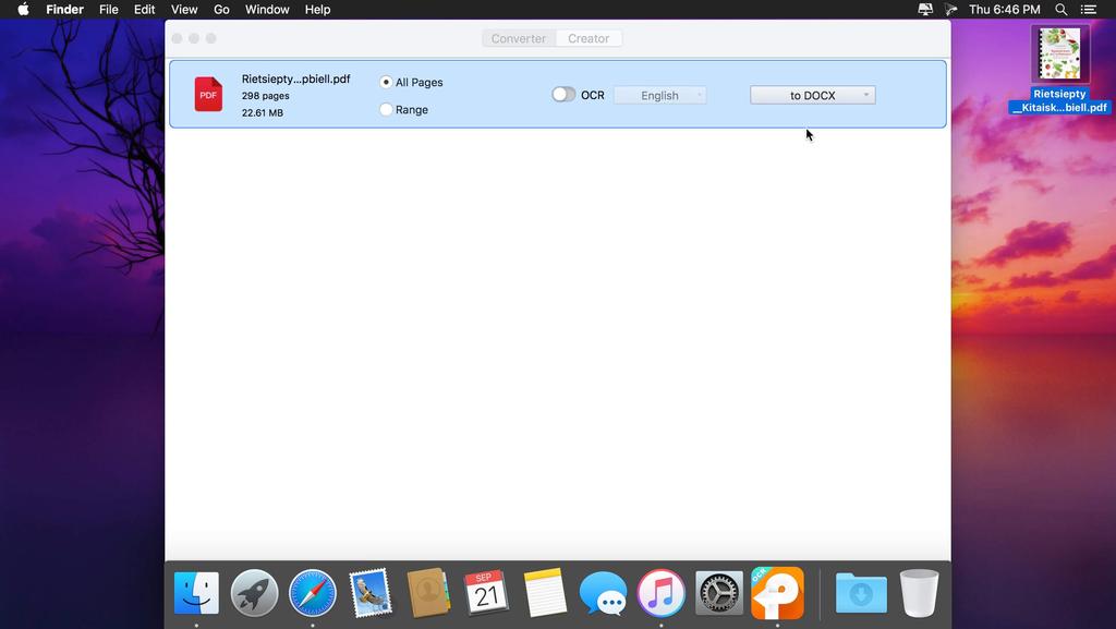 Cisdem PDF Converter OCR 710 Screenshot 02