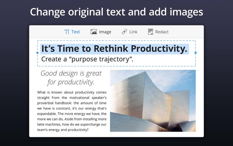 PDF Expert - Edit and Sign PDF Screenshot 3 ikzdlt