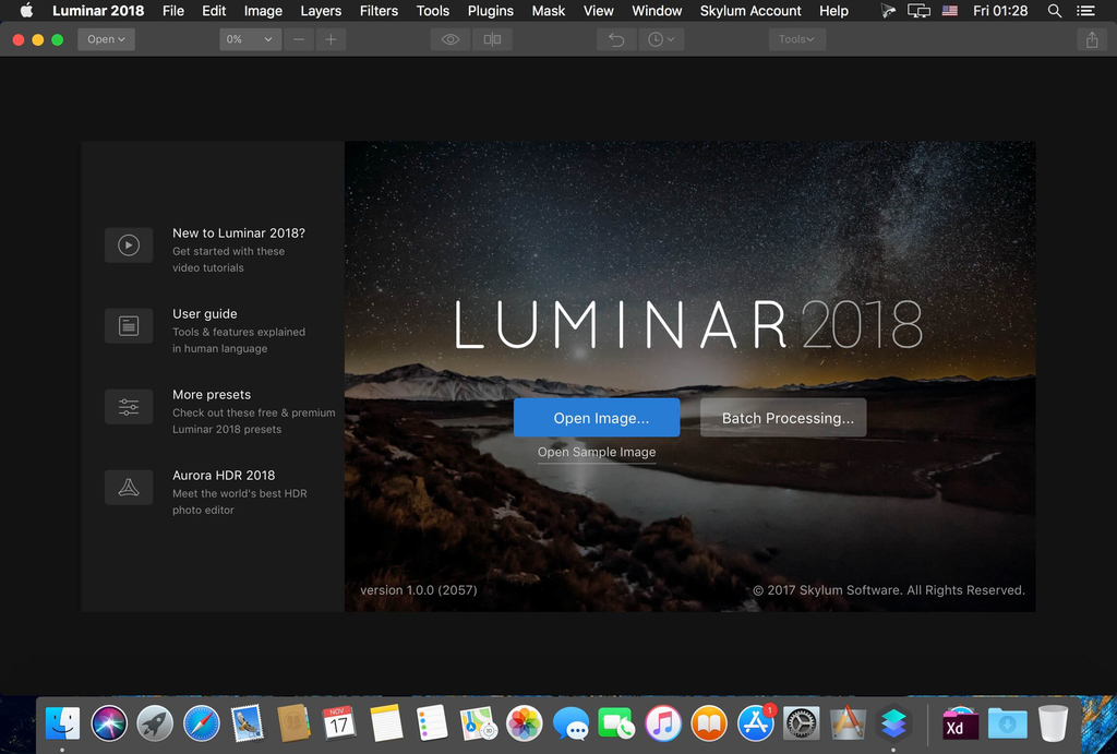 Skylum Software Bundle 2019 Update 1509 Screenshot 01 ikzebln