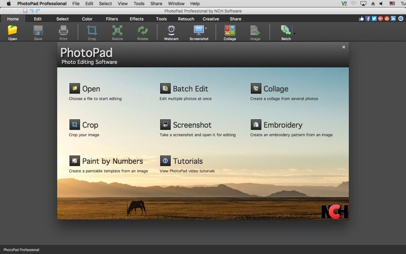 PhotoPad Professional Screenshot 01 obiib8n