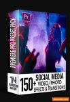 150+ Social Media FX Pack for Adobe Premiere Pro (Win/Mac)