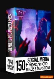 """Résultat de recherche d'images pour """"150+ Social Media FX Pack for Adobe Premiere Pro (Win/Mac)"""""""