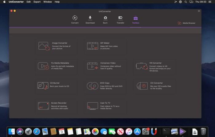 Wondershare UniConverter for Mac 1150 Screenshot 05 ah40c9n