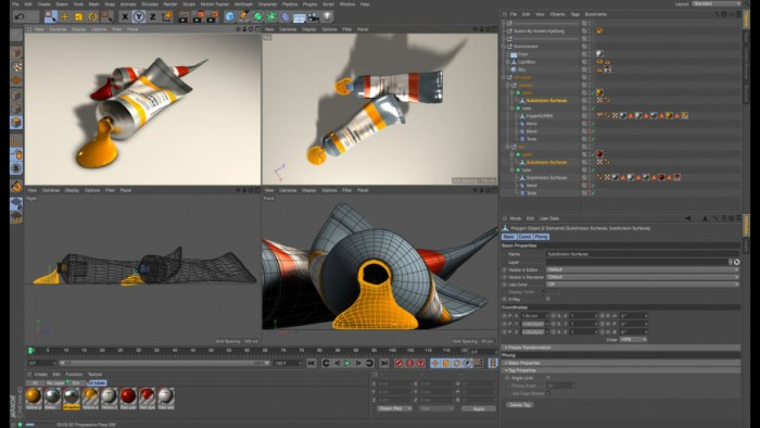 Maxon CINEMA 4D Studio R21026 Screenshot 01 ah7ogsy