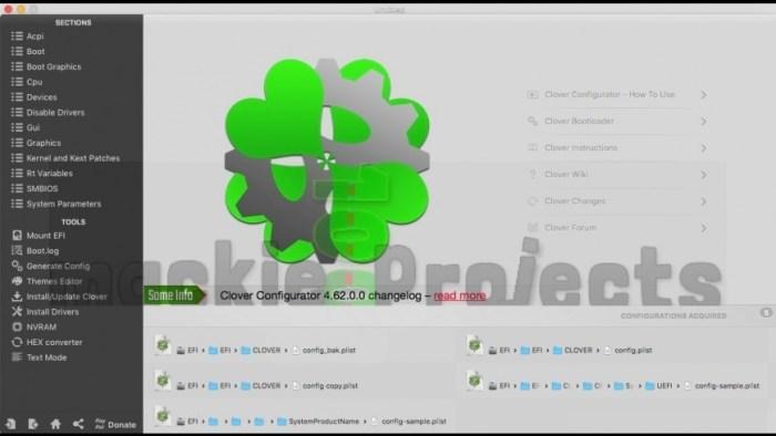 Clover Configurator 5500 Screenshot 01 ikzdmbn