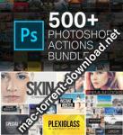 500+ Photoshop Action Bundle for Photographers