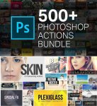 500+ Photoshop Action Bundle for Photographers