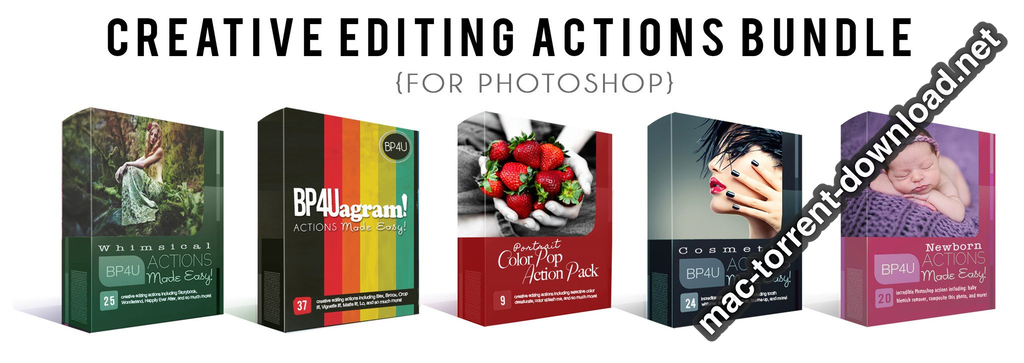 CREATIVE EDITING ACTIONS BUNDLE PHOTOSHOP Screenshot 01 bn94ovy