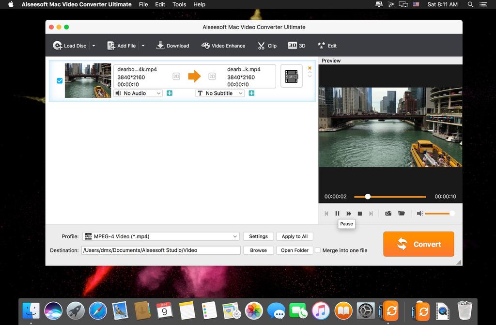 Aiseesoft Mac Video Converter Ultimate 9232 Screenshot 02 13sl85cy