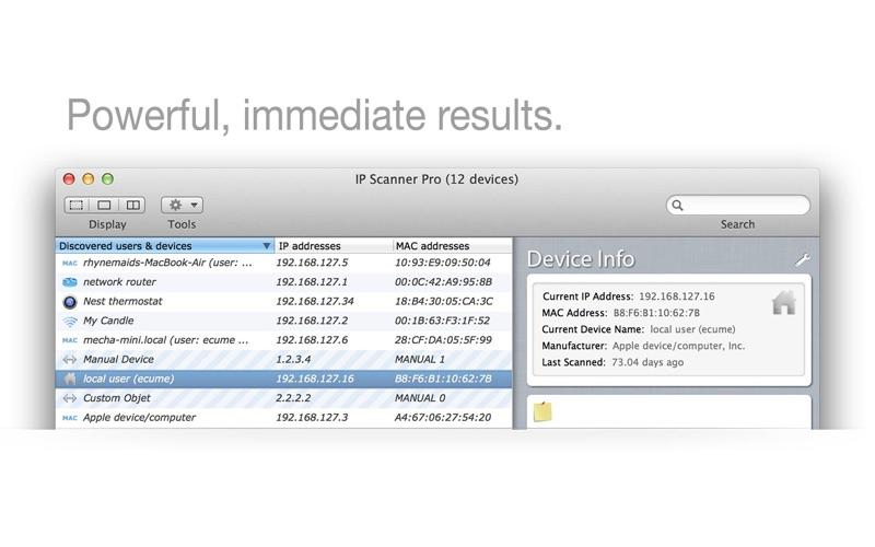 IP Scanner Pro Screenshot 1 ppmohdy