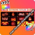 Extreme Titles for Final Cut Pro X