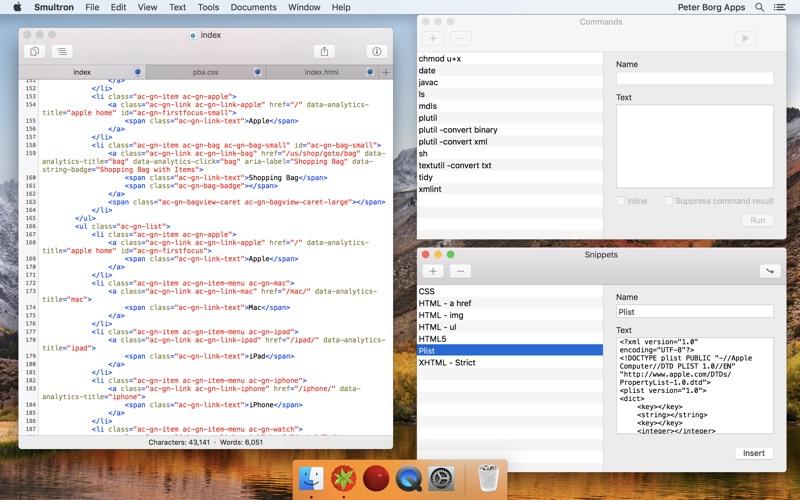 Smultron 10 - Text editor Screenshot 05 tb0hqgy