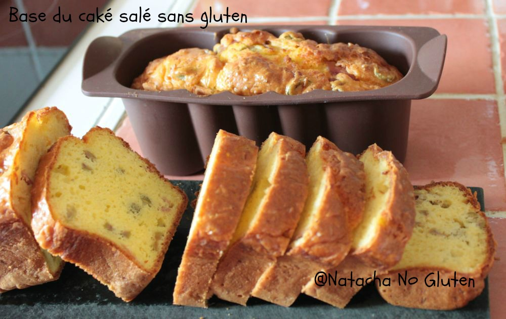 La base du cake salé sans gluten