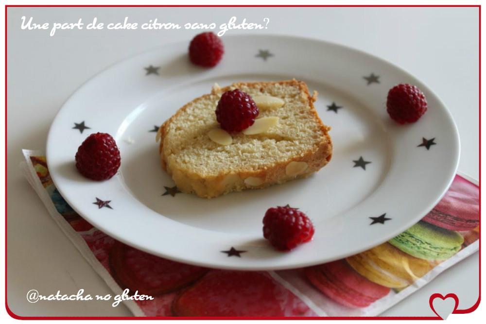 Cake amande citron sans gluten