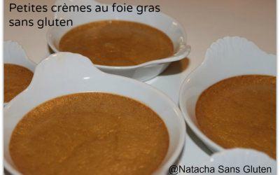 Crème au foie gras sans gluten
