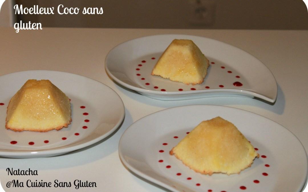 Moelleux coco sans gluten