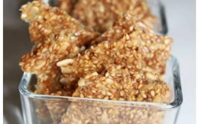 Crackers aux graines sans gluten