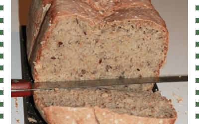 Pain sarrasin & graines sans gluten