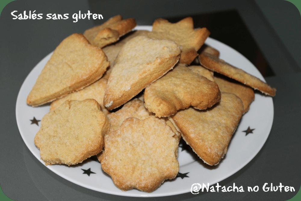 Sablés sans gluten (farine de riz)