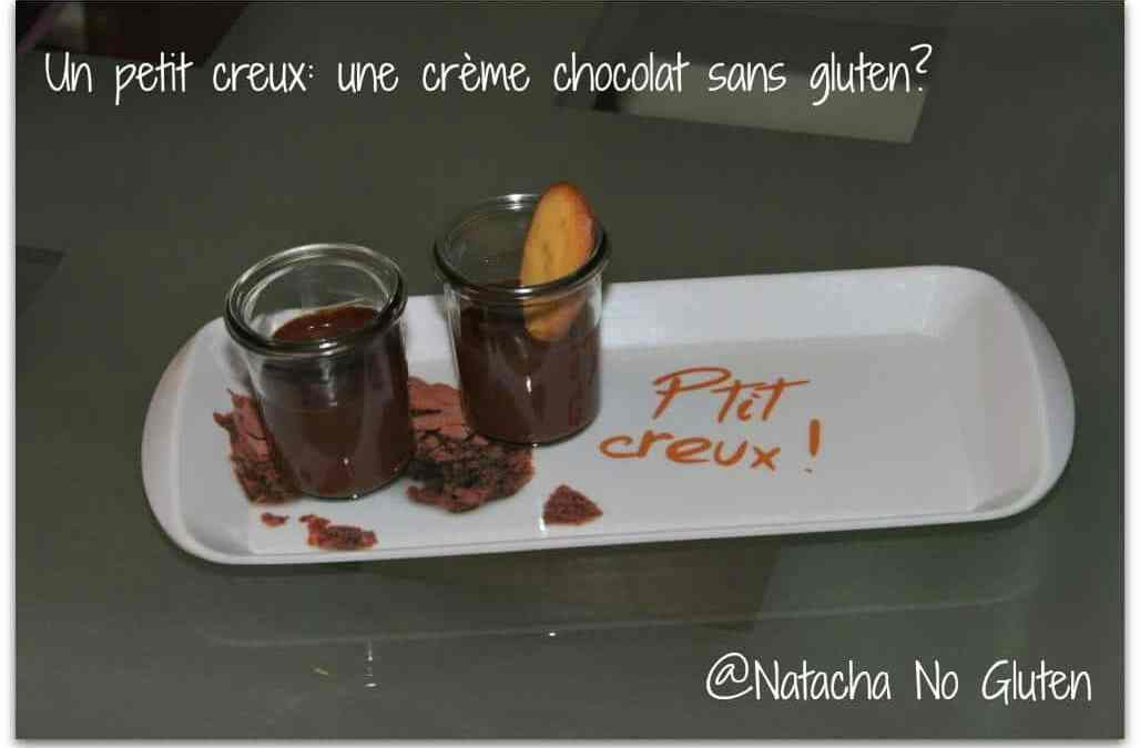 Crème dessert chocolat sans gluten