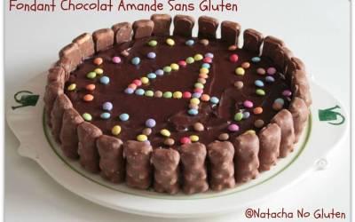 Fondant Chocolat Amande sans gluten